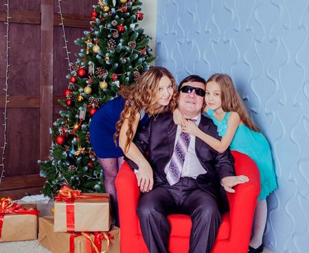 Шахбан с семьей