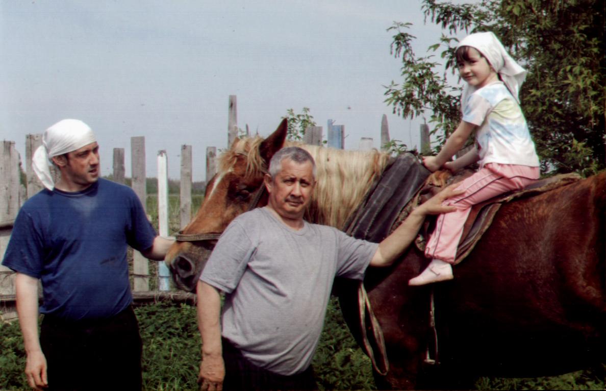 фото 17 - Симашевы (Ринат, Фаиль, Альбина), 2011 г.