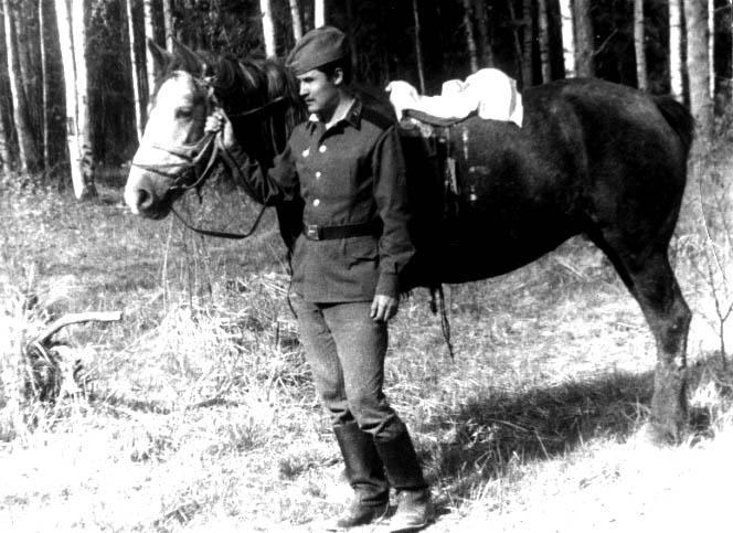 фото 18 - Рашид Чикаев (в армии, Ивановская обл., Тейковский р-н) 1972 г.
