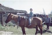 фото 49 - Марат Канеев с сыном Наилем, 1999 г.